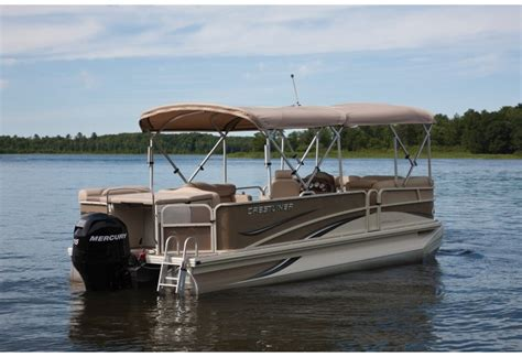 crestliner pontoon boat models research 2010 crestliner boats grand cayman 2385 on
