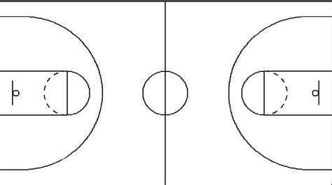 best photos of basketball court template for drawing plays