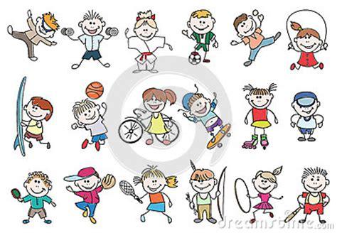 doodle jump quarter sport activity vector stock vector image 65407712