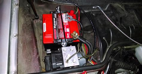 porsche 944 battery size chimera the chevy powered porsche 944 abs and battery