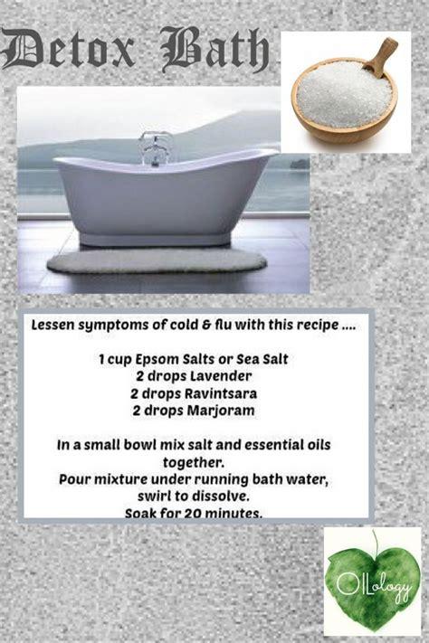 Peppermint Essential Detox Bath by Living Detox Detox Baths And Living On