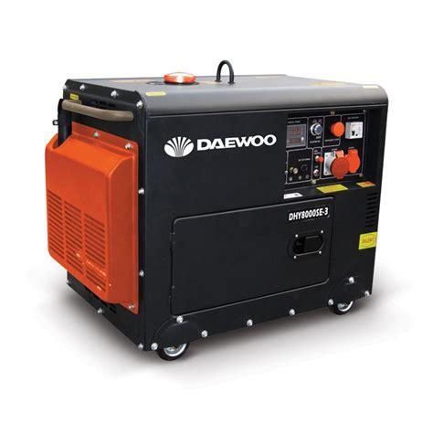 generator daewoo