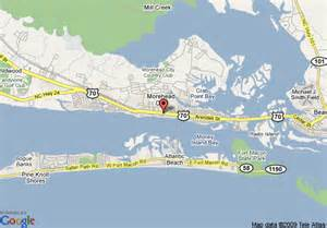 map of morehead city carolina map of quality hotel morehead city morehead city