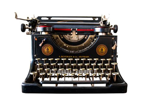 font alte schreibmaschine free photo typewriter isolated nostalgic free image