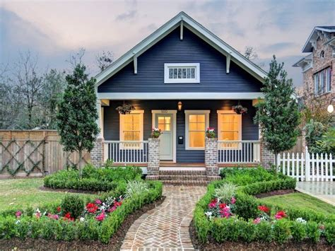 blue craftsman house this little house is a true blue craftsman craftsman style pinterest house