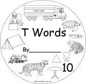 Words Early Reader Book  EnchantedLearningcom sketch template