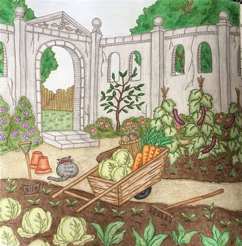 romantic country the second 57 best my finished coloring pages images on prismacolor coloring and pencil