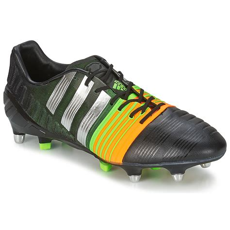 football shoes black adidas performance nitrocharge 1 0 sg football shoes