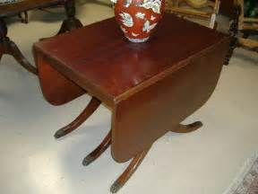 Duncan Phyfe Dining Room Table duncan phyfe drop leaf dining table