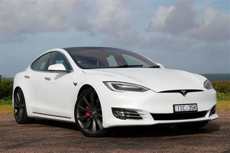tesla model  pd  review road test carsguide