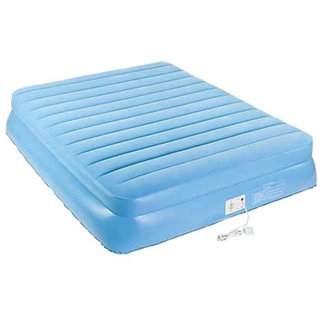 twin inflatable bed aerobed 9221 18 5 quot raised twin size inflatable air bed
