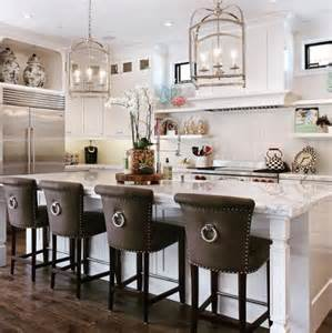 Kitchen Island With Chairs by 18 Stylish Bar Stools For Your Kitchen