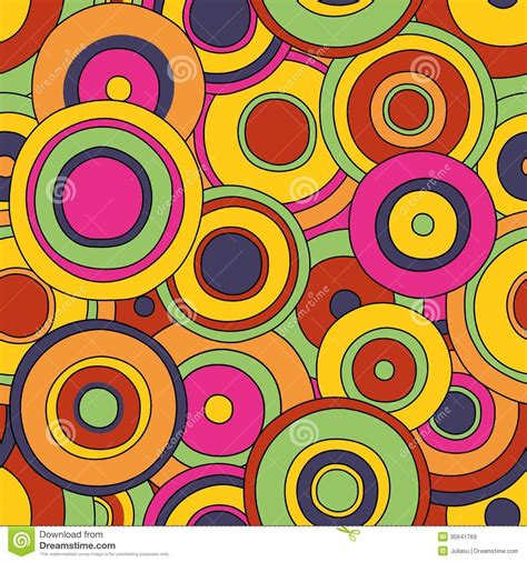 pattern pop art style circles seamless pattern royalty free stock images image