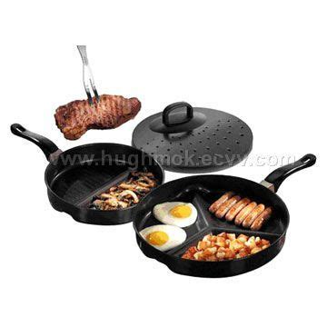Divide Pan Set As Seen On Tv Divided Pan Set Promo 3pcs divide fry pan purchasing souring ecvv