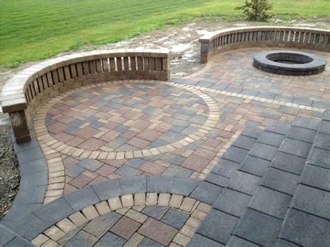 Patio Paver Designs Ideas Enchanting Patio Paver Design Ideas Patio Paver Patterns Paver Patio Installation Backyard