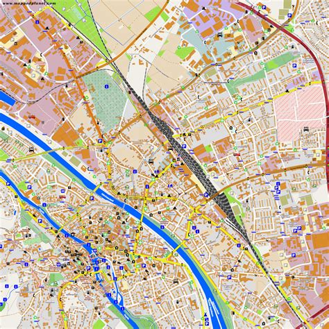 city maps of city maps bamberg