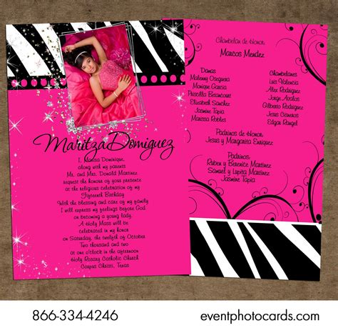 unique quinceanera invitations template best template collection