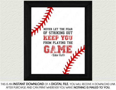 printable baseball quotes 17 best images about baseball quotes on pinterest