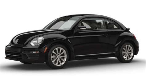black volkswagen beetle 2017 volkswagen beetle interior and exterior color options