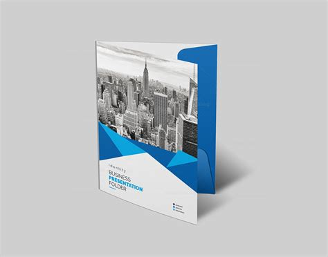 psd presentation template psd presentation folder template 000191 template catalog