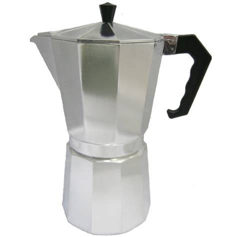 Buy Stove Top Espresso Coffee Pot   12 Cup   Moka   Italian   Shop Online   UK   Europe