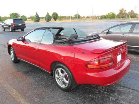1998 Toyota Celica 1998 Toyota Celica Pictures Cargurus