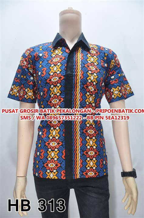 Seragam Kemeja Hem Batik Capucino Motif 16 hem batik motif songket kemeja batik songket hb 313
