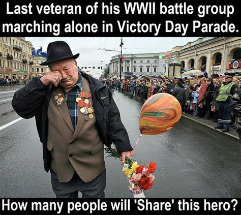 Win Something Different Every Day Before Memorial Day by Last Veteran Of Wwii Battle Marching Alone In