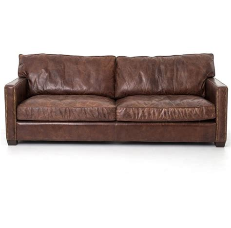 Distressed Leather Sectional Sofa Best 25 Distressed Leather Ideas On Pinterest Scandinavian Lighting Hardware Living