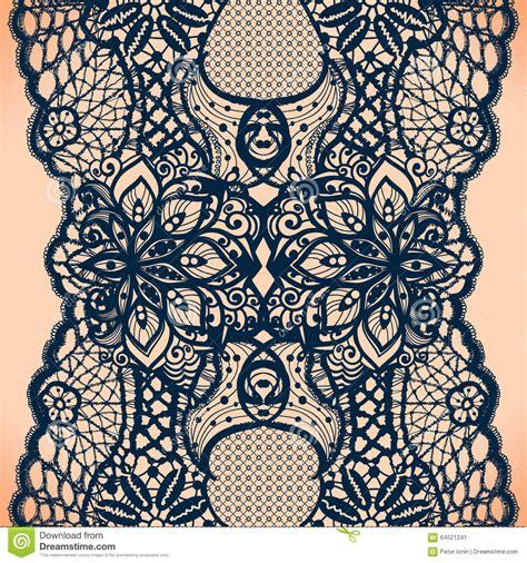 seamless ribbon pattern abstract lace ribbon seamless pattern stock vector image