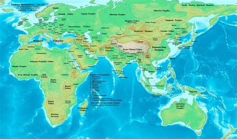 world map 500 ad then and now world maps from 1300 b c to 1500 a d and
