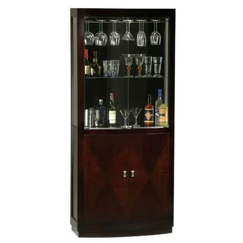 Spirits Cabinet by Montgomery By Howard Miller Wine Spirits Cabinets