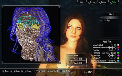 make mod game racemenu mod the elder scrolls v skyrim mods gamewatcher