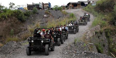 Petualangan Di Gunung Bencana lava tour jeep merapi wisata adventure jogja