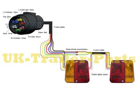 trailer lights wiring diagram  pin australia trailer