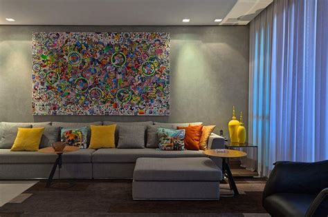 decorar sala sofa verde claro 60 salas decora 231 227 o cinza ideias e fotos