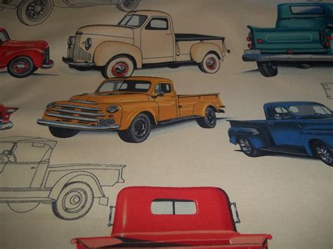 Custom Order A N Hendry The Up Truck By Henry Fabric Collection 100