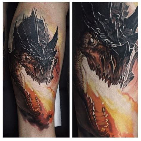 dragon of the darkness flame tattoo great pictures tattooimages biz