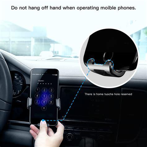 baseus gravity car mount baseus  iphone  cases