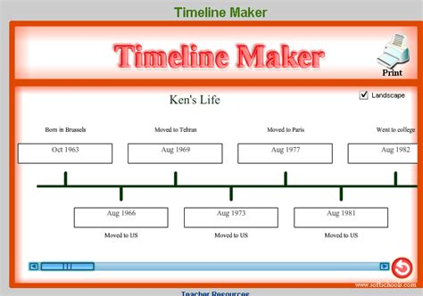 timeline maker template us history teachers formative quizzes and