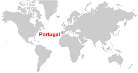 where is portugal located on the world map portugal map and satellite image
