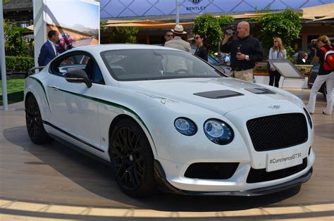bentley continental gt3 r racecar bentley gt3 r at pebble concours