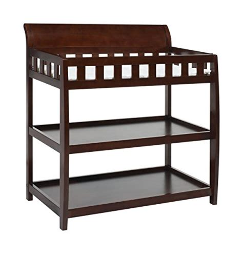 black espresso changing table delta children bentley changing table black cherry