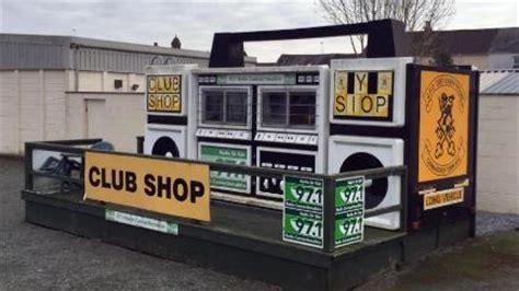 carmarthen town afc a big noise with club shop bt