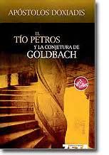 libro el tio petros y libros tio petros y la conjetura de goldbach apostolos doxiadis literatura