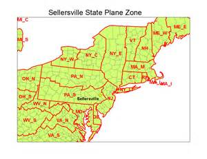 state plane coordinate system map project 1 sle report