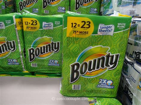 Who Makes Bounty Paper Towels - bounty paper towels