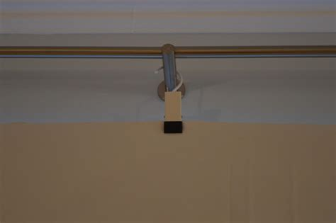 removable curtain rod removable black out curtains with enudden hanger with clip