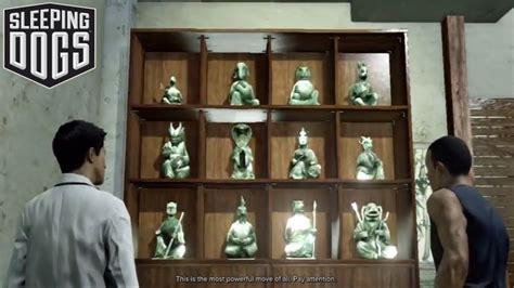 sleeping dogs jade statues jade statue 11 sleeping dogs collectible