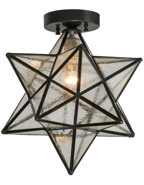 moravian star light set moravian ceiling light